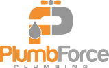 Plumbforce Plumbing Logo